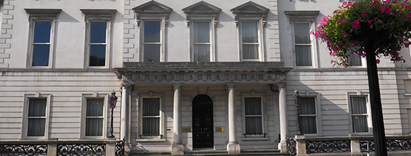 Front view of Iveagh House