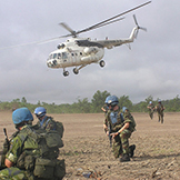 Liberia-UNMIL-Heli-Operation (c) Irish Defence Forces