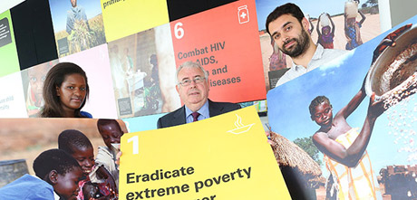 Minister Costello highlights results at the launch of the Irish Aid Annual Report