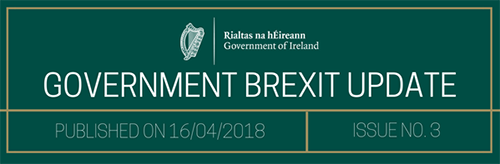 Government Brexit Update 16 April 2018