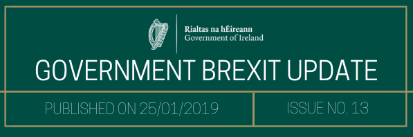 Government Brexit Update 28 January 2019