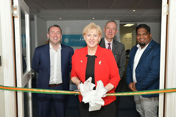 Minister for Business Enterprise and Innovation Heather Humphreys T.D opening the Cape Town office of an Irish education technology company November 2019