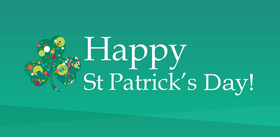 Happy St Patrick's Day message image