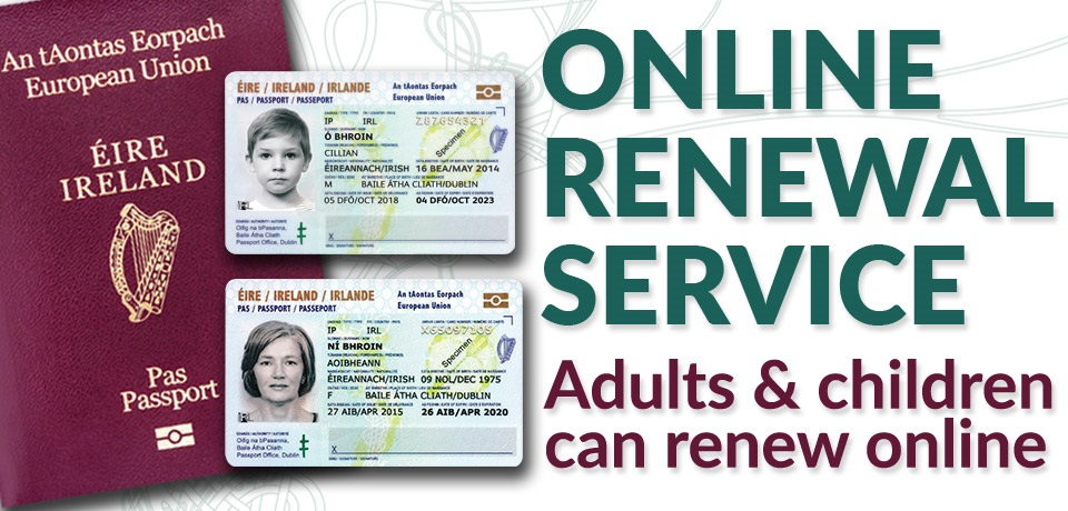 Passport Online: Worldwide renewals