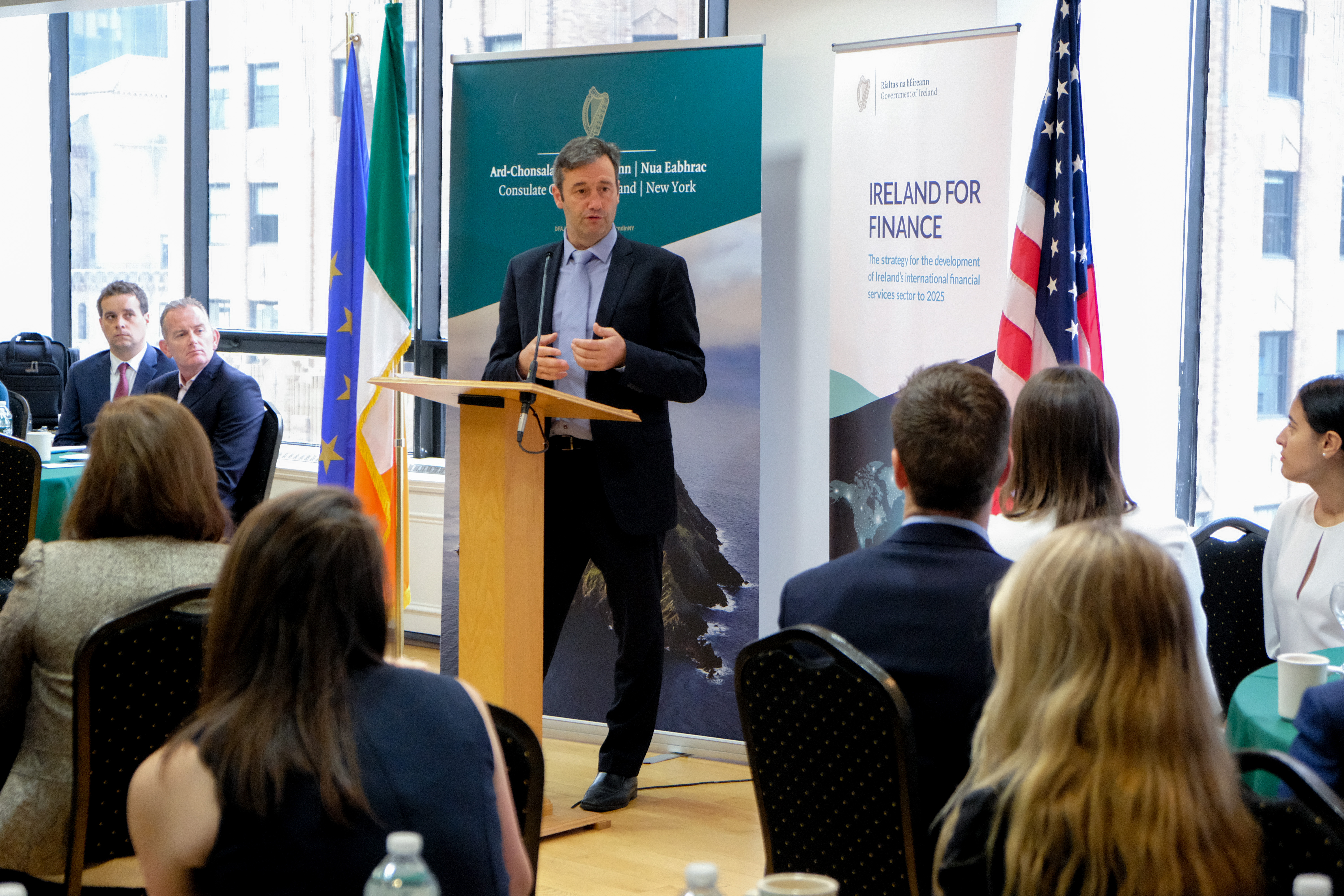US Launch of Ireland for Finance Strategy