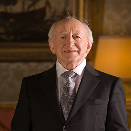A Conversation with President Michael D. Higgins at the New York Public Library